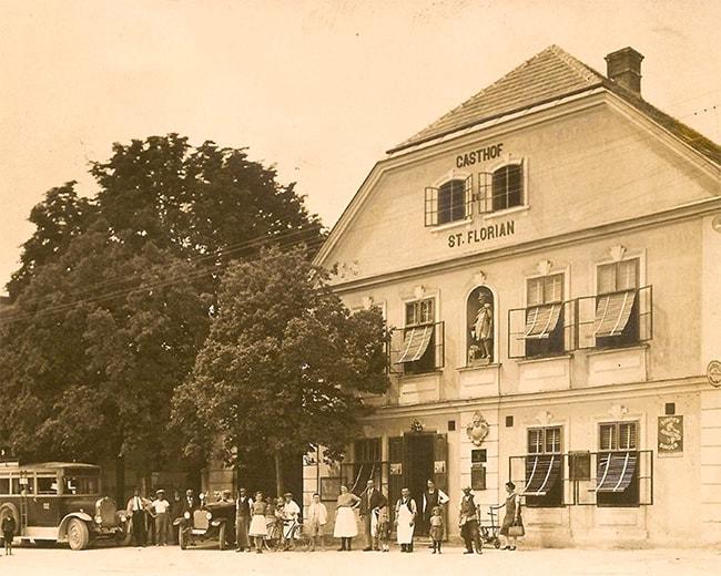 Altes Foto von Gasthaus Halbwax