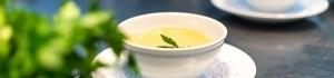 Nahaufnahme von Suppe